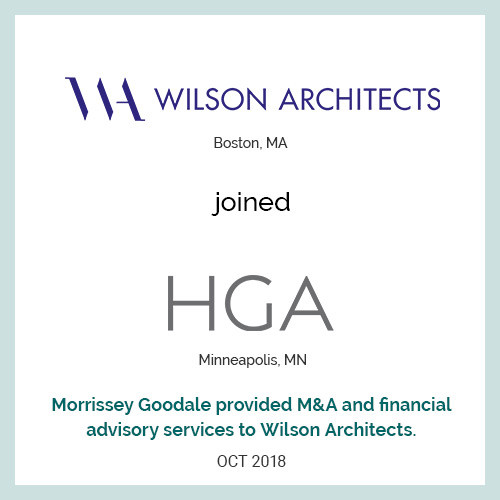 Wilson Architects joined HGA